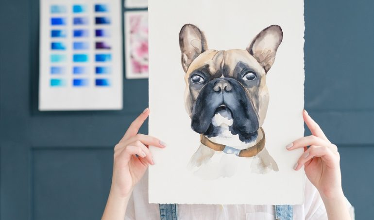 "5 French Bulldog Drawings That Will ""Frenchie"" Up Your Living Space"